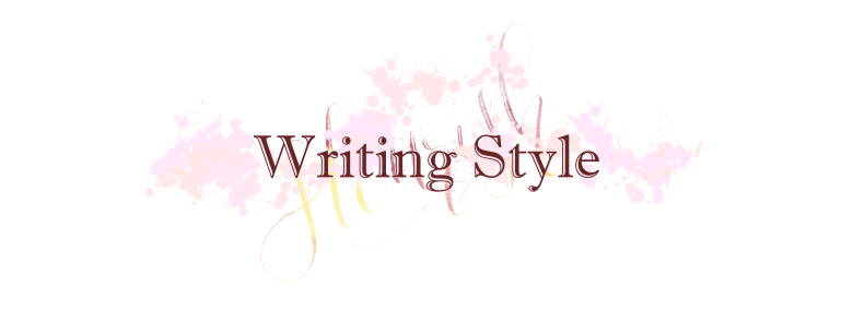 Blogs Have Writing Styles?! (aka I have an existential crisis)