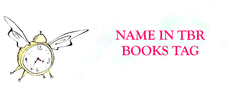 My Name in TBR Books Tag