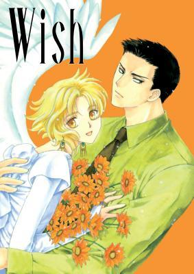 Wish by CLAMP book cover (man hugging an angel)