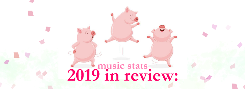 2019 in review: music stats
